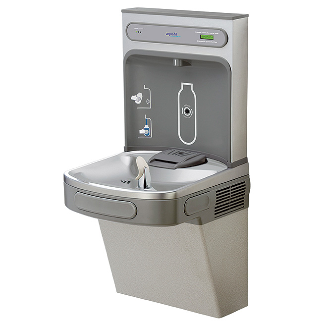 aquafil Fresh refill station and drinking fountain
