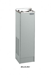 Elkay-Space-ette-freestanding-water-cooler-wtih-logo