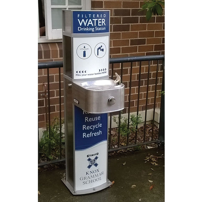 Pulse Water Refill Station and Drinking Fountain