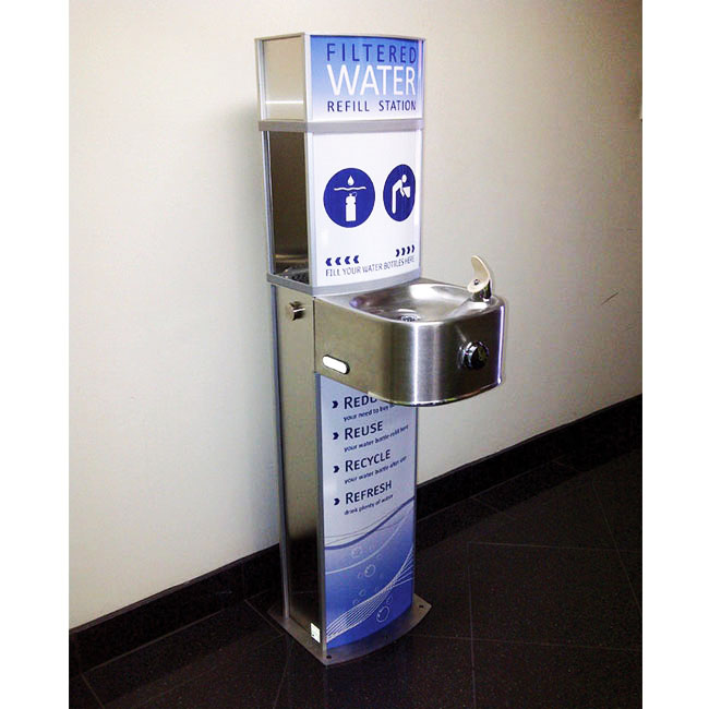 Drinking Fountain And Water Refill Stations